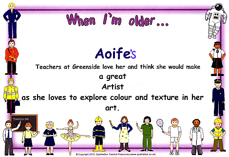 Aoifes Certificate