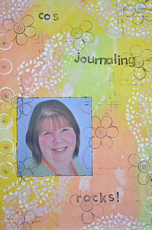 Cos journaling rocks cover